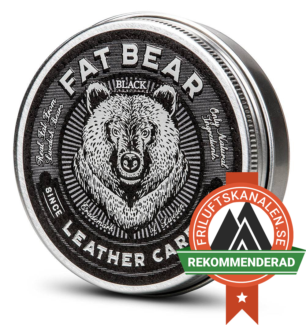 Fat Bear Leathercare Black med tjära!