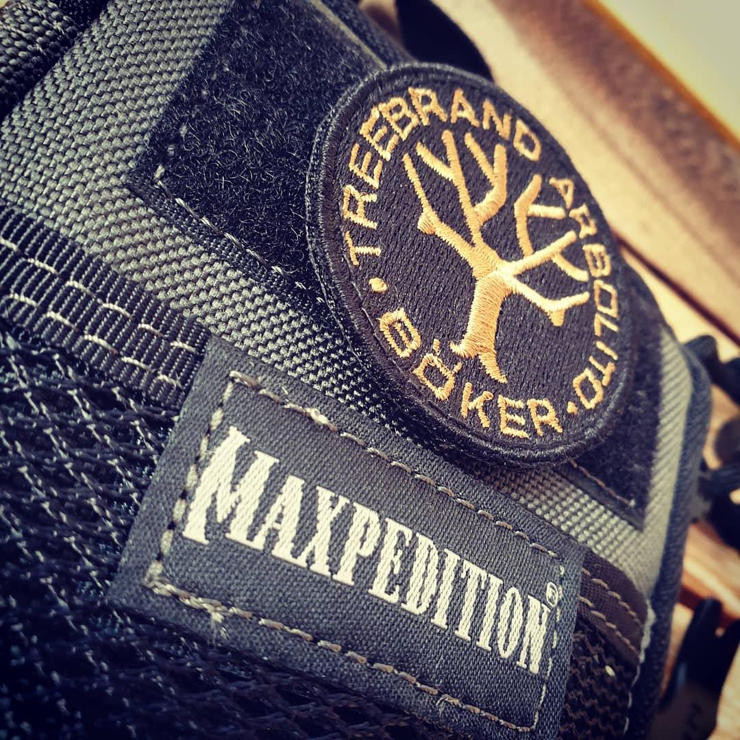 Maxpedition Mini och patch från Böker!