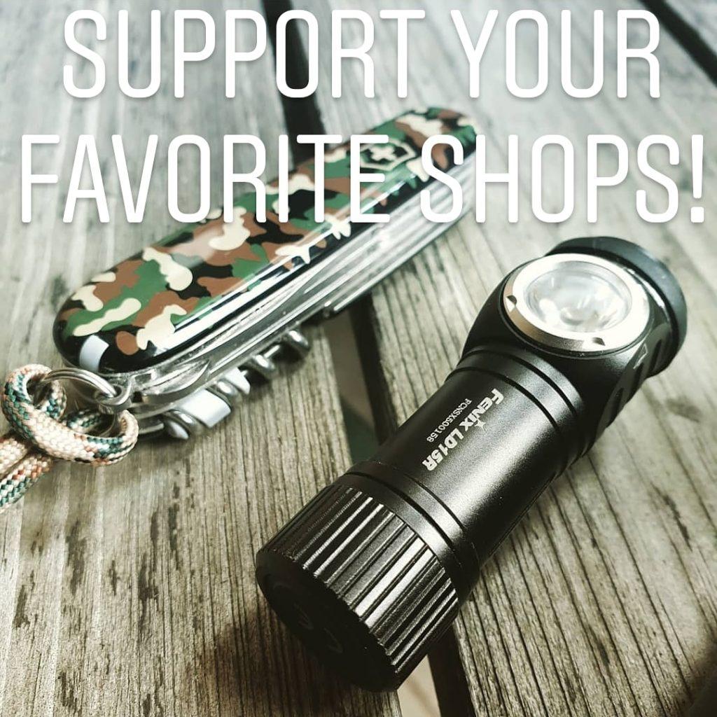 Ge Coronaviruset en omgång - stöd dina vänner! Bild från vår webbutik Slims.se 's Instagram