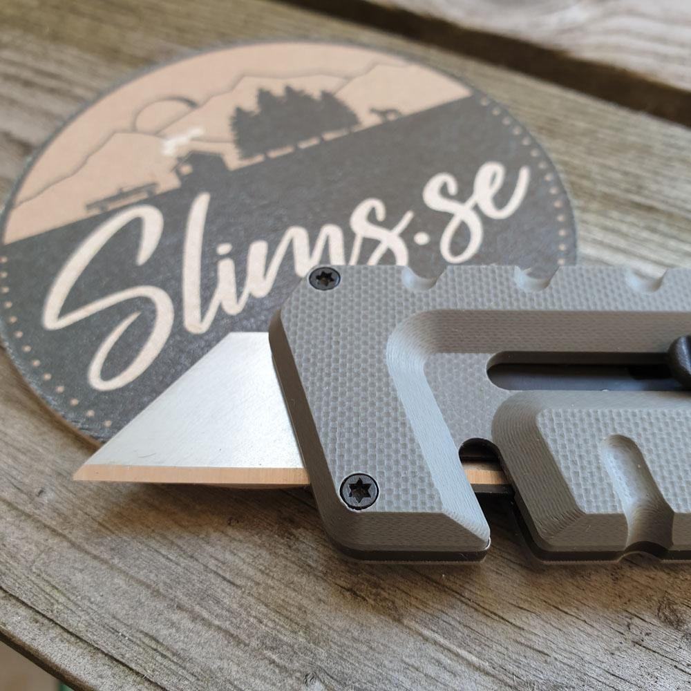 Utbytbart rakblad av standardstorlek! Bild från Slims.se
