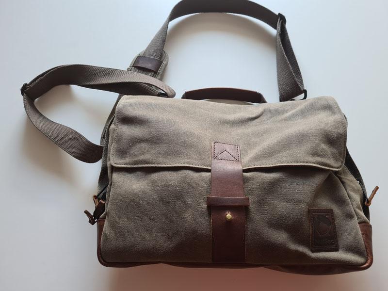 Nutida klassiker, en EDC-väska från Nutsac (känner ett visst ha-begär växa varje gång jag ser en) Bild: Mikael