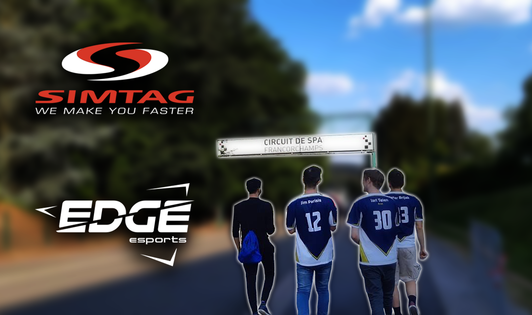 Edge Esports and Simtag continue partnership
