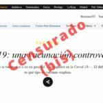 Vacunas y covid-19. Nueva censura en El Salto