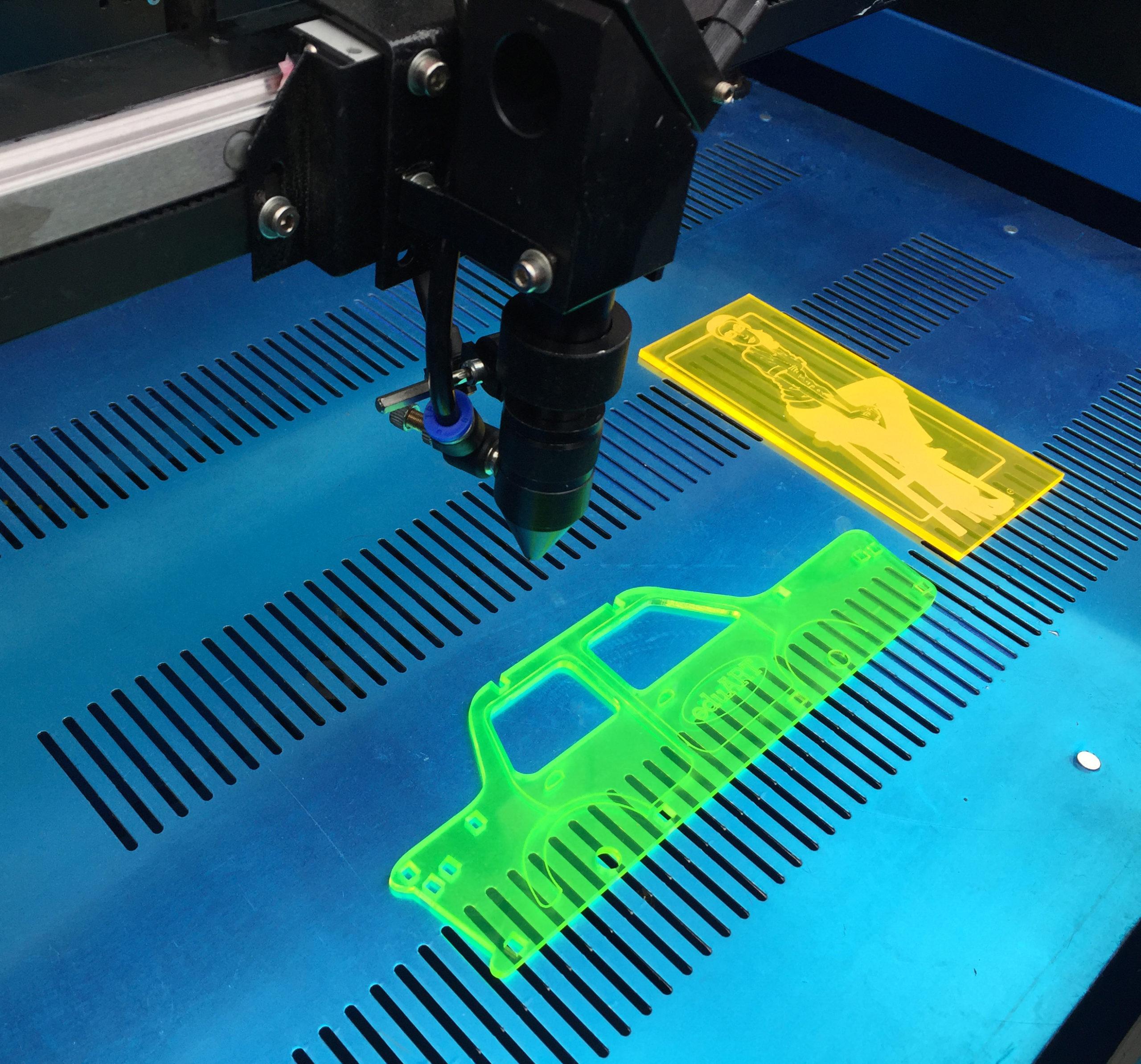 Hurtig gennemgang af lasercut opstart