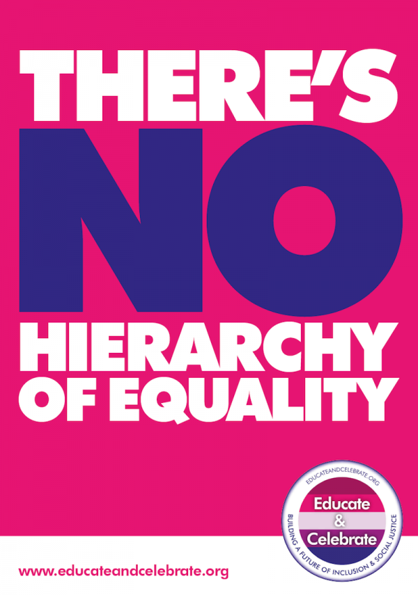 Inclusive policy posters for schools and colleges availble from Educate & Celebrate