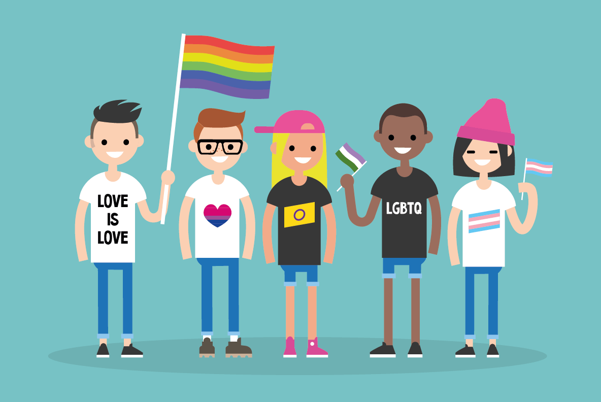Educate & Celebrate Pride Youth Network for schools. Student network