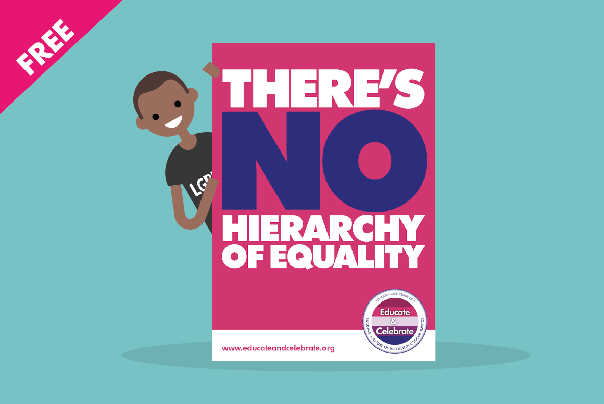 LGBT+ posters for all schools from Educate & Celebrate