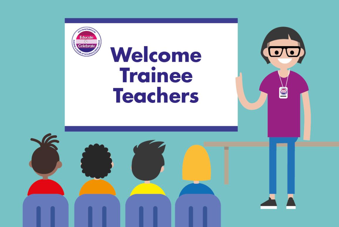 Trainee teachers at an Educate & Celebratewebinar seminar