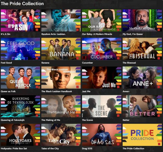 Channel 4 PRIDE Collection
