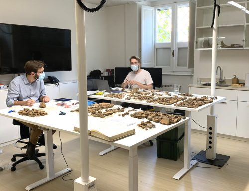 Archeologische vondst: Groningse laptopzuil in Rome