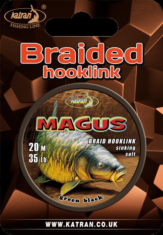 Braided hook links magus 35 b