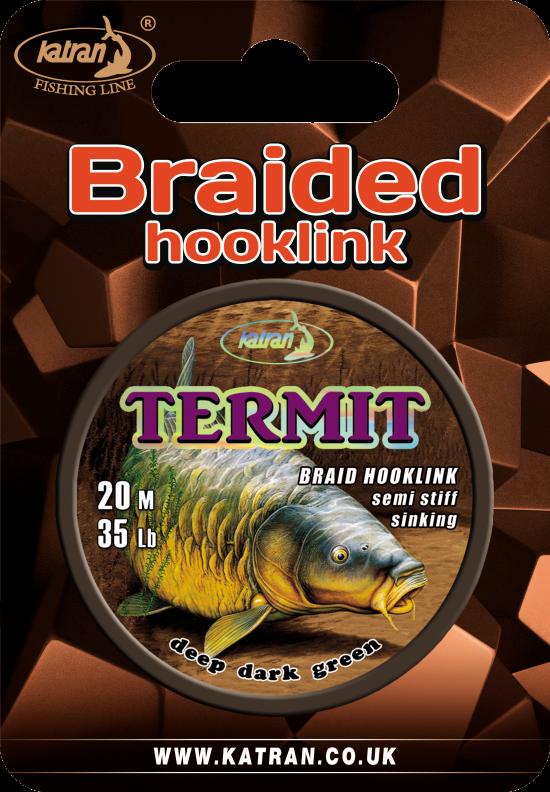 Braided hook links termit 35 b