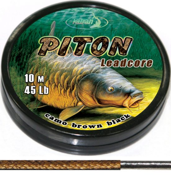 Lead core PITON brown 2