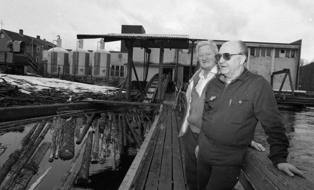 Arne B. Glans og Gunnar Dyrstad