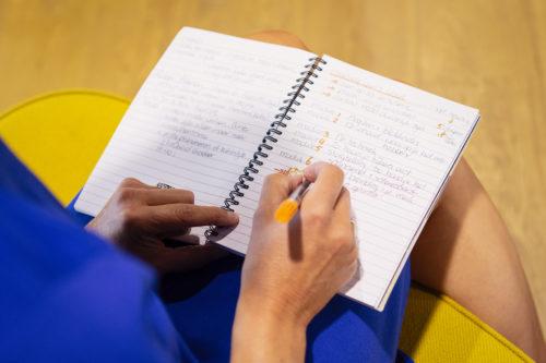 Schrijven in Mijn Notitieboekje