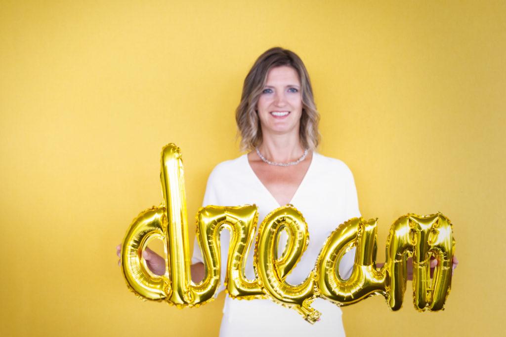 Foto Nancy van Zijtveld. Altijd blijven dromen en realiseren.