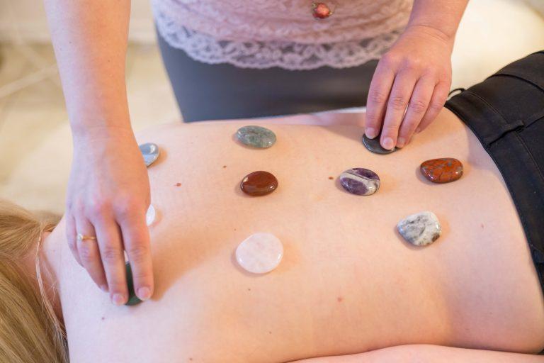 Heilstein-Massage