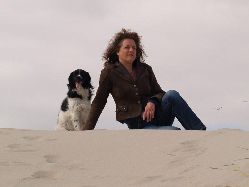 Gerda met hond