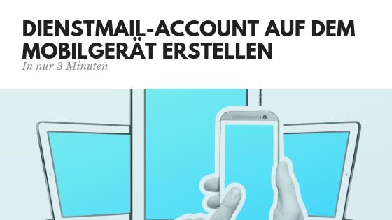 Logineo Mail auf dem Handy einrichten