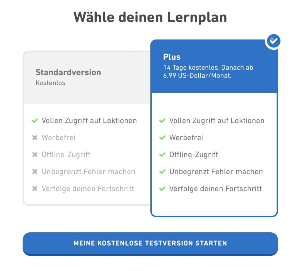 Die besten Apps zum Sprachenlernen. Duolingo Plus