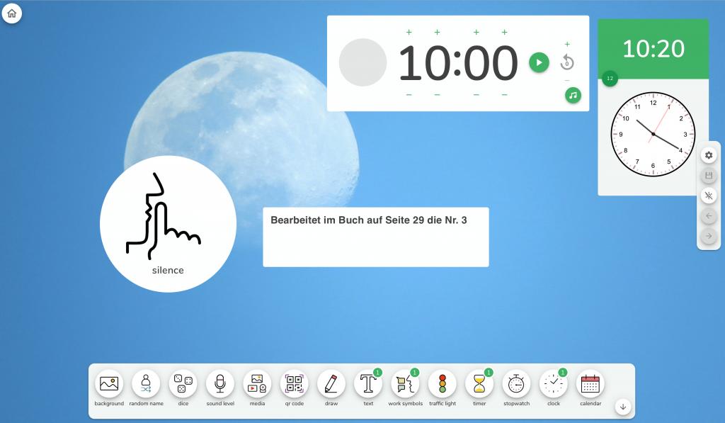 Mit dem iPad unterrichten: Classroomscreen für die Unterrichtsgestaltung