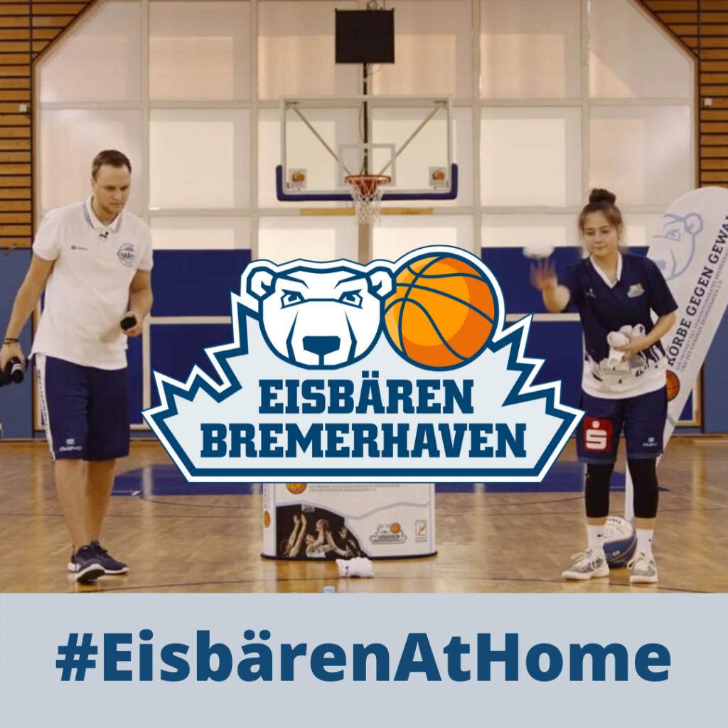 #EisbärenAtHome – Wurfspiele für zu Hause