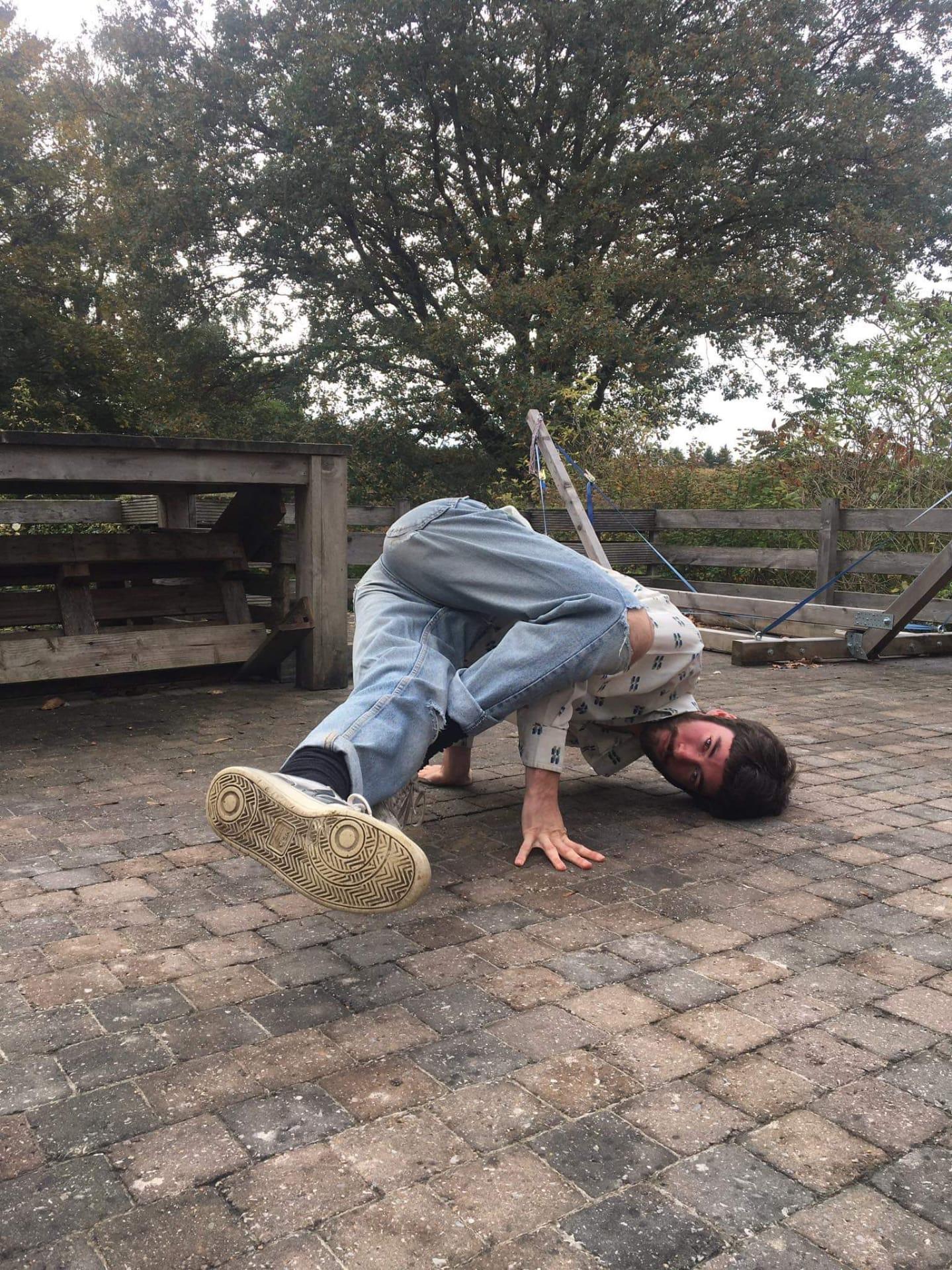 Korte lessenreeks breakdance Arne Sonck