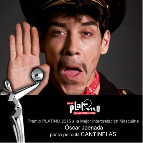 PREMIOS PLATINO 2015-ACTOR