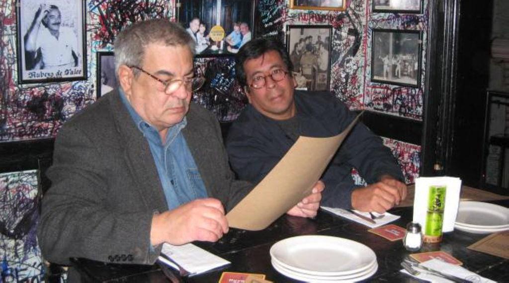 Con Lichi el la Bodeguita del medio dic 2009