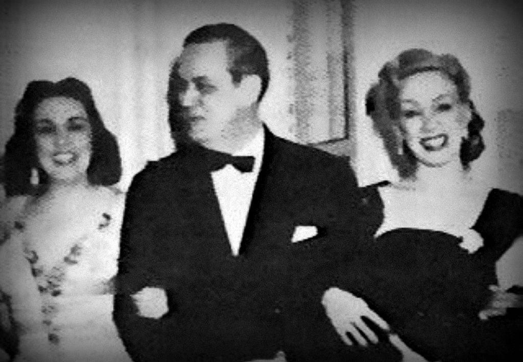 Rosa Fornés y Ernesto Lecuona