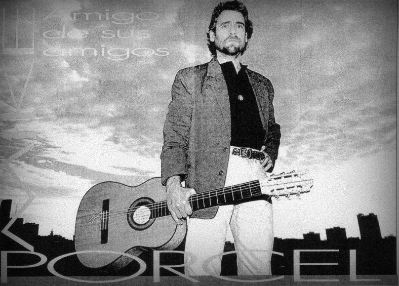 mike porcel con guitarra 1994