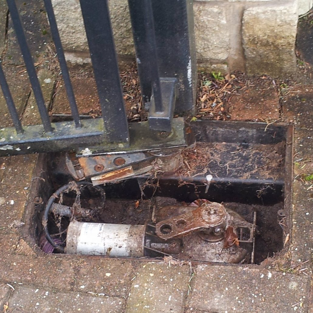 electric gate motor repair