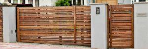 Electric gate designs