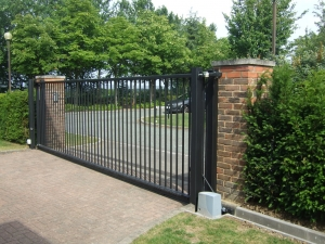 Sliding gates are best where space is limited