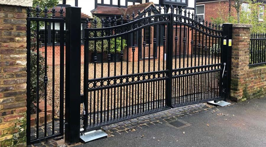 How much do electric gates cost?