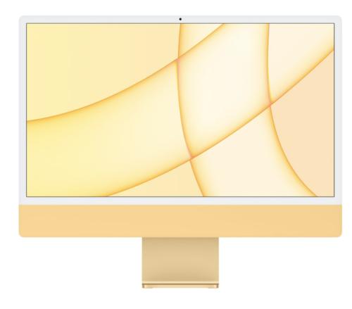iMac 2021 geel