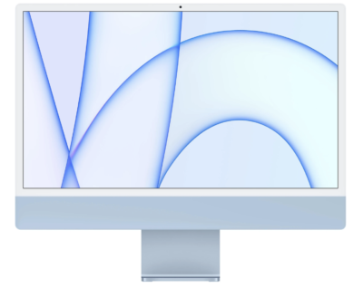 iMac blauw