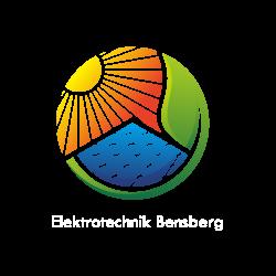 Elektrotechnik Bensberg Logo PNG Weiß