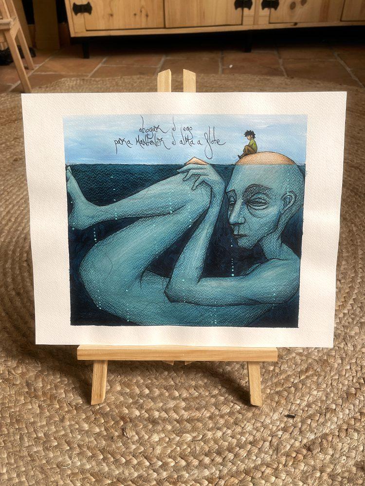 Ahogar el ego para mantener el alma a flote