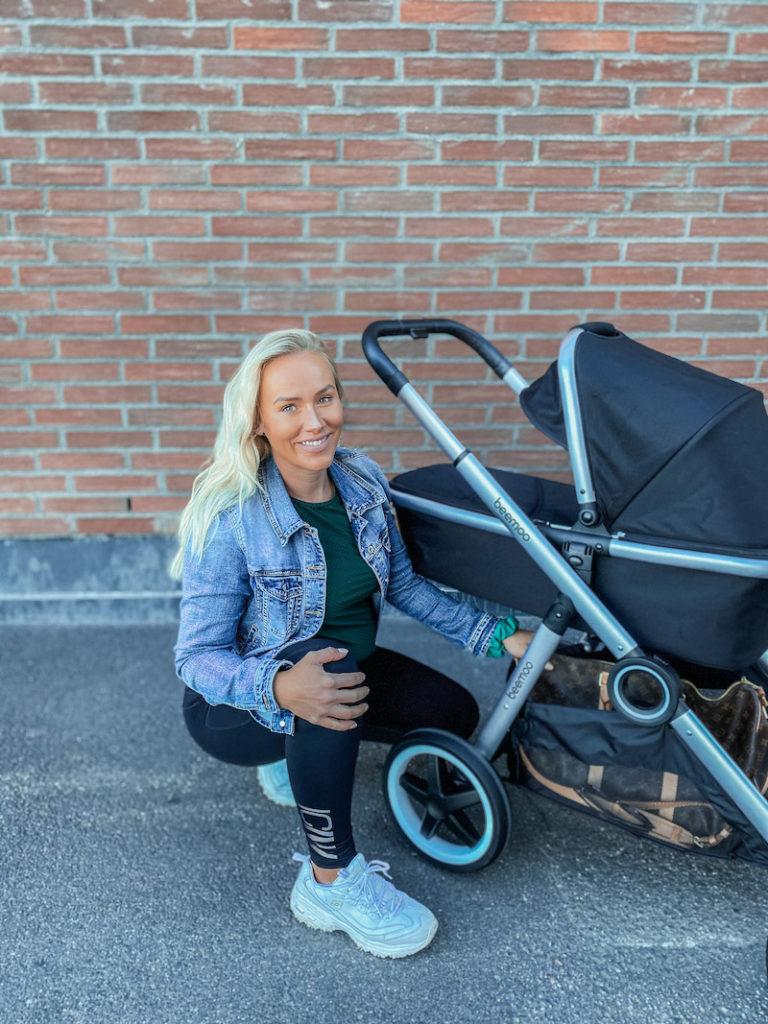 liikkuminen vauvan kanssa