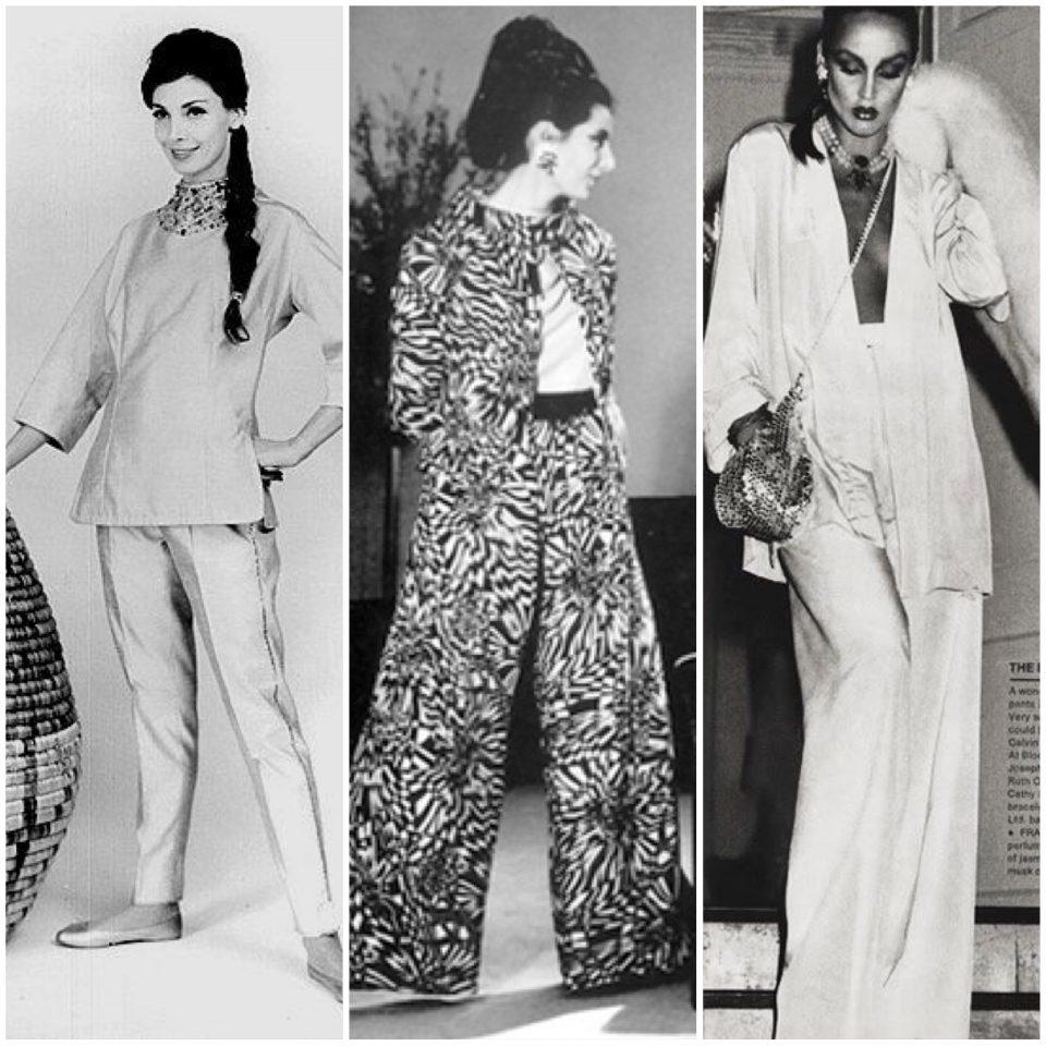 Il pigiama negli anni '60/'70