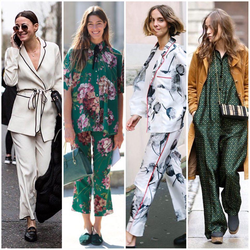 Il pigiama nello Street Style 2016