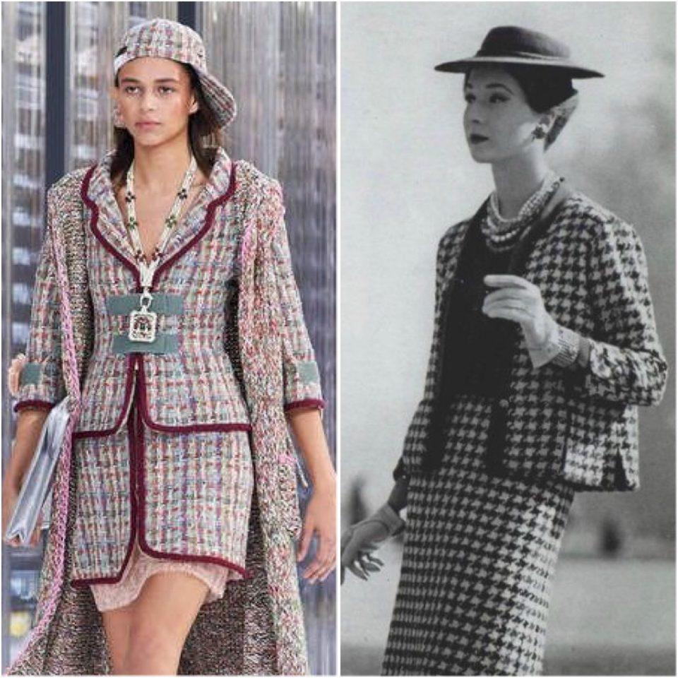 Chanel oggi Vs Chanel anni '50