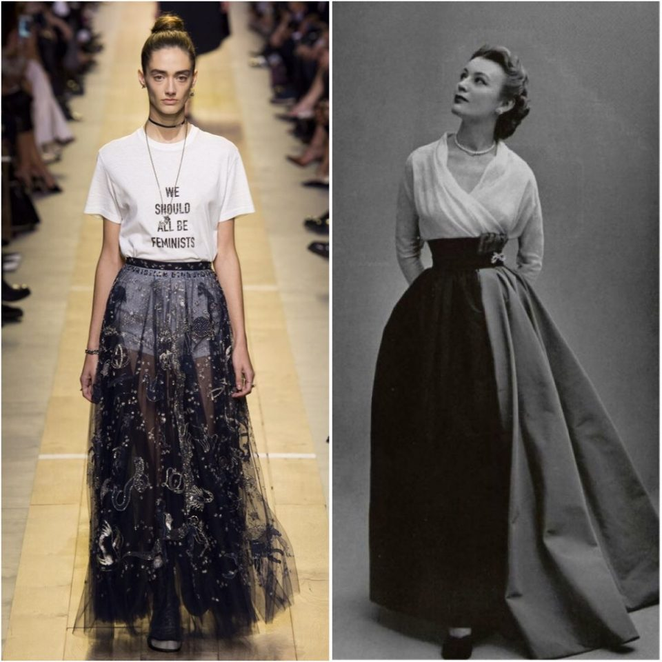 Dior oggi Vs Dior anni '50