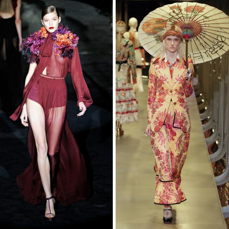 Gucci by Frida Giannini Vs Gucci by Alessandro Michele