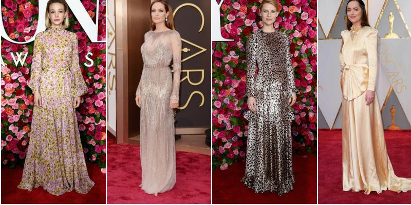 Carey Mulligan, Angelina Jolie, Claire Danes e Dakota Johnson - Oscar e Tony Award 2018