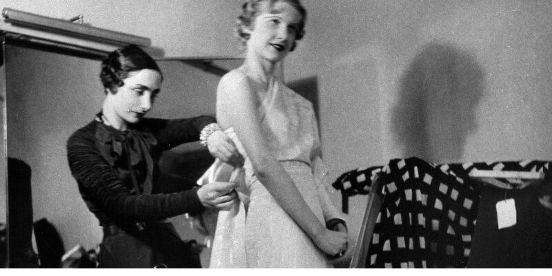 madame gres fitting a model