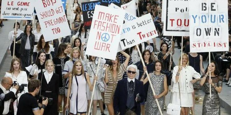 moda femminismo boulevard chanel 2015