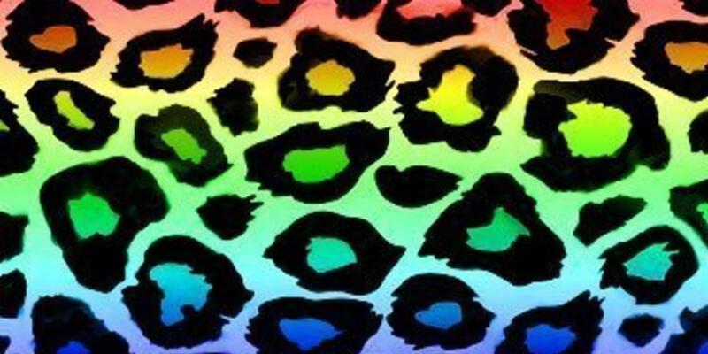 il motivo leopardato si presenta in versione multicolore