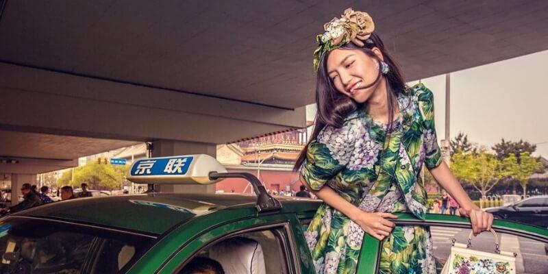 una immagine della campagna d&g loves china